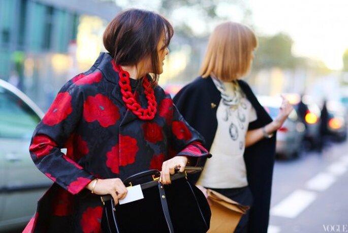 Conjuntos en tendencia street style - Foto Vogue Street style Paris