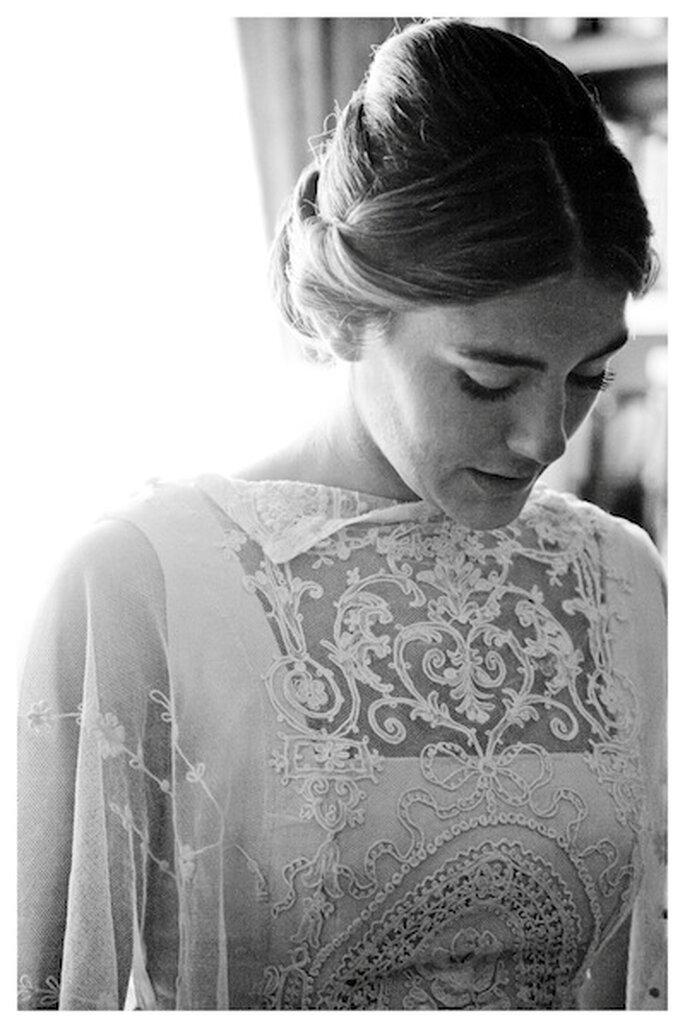 Une mariée photographiée le D-Day... - Photo : @Rita_Esteban de Click10