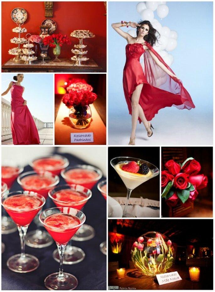 Para la cultura oriental el rojo es el color de la suerte. Foto: Fran Cavedes Acctitude, Hernán Zajar, Boutique de Tres Deco, Ladybrid, Patricia Figueira,Antonio Saucedo
