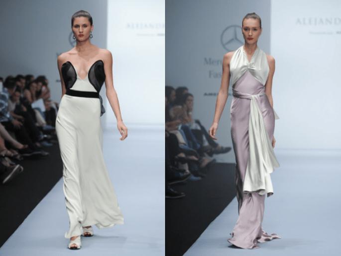Vestidos de fiesta para otoño 2013 - Foto Mercedes Benz Fashion Week México