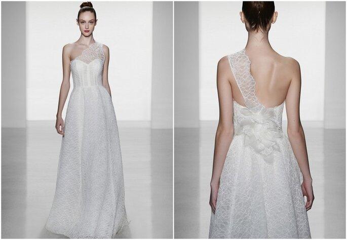 Vestido de novia Skylar de Amsale - Colección Otoño 2014. Fotos: www.amsale.com
