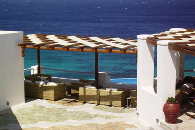 Mykonos, île de rêve pour voyage de noces en Grèce
