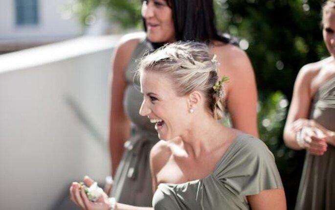 Peinados de novias. Foto Nadia Meli.
