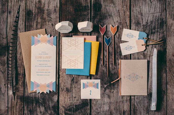 Bodas geométricas como tendencia 2015 - JBM Wedding Photography