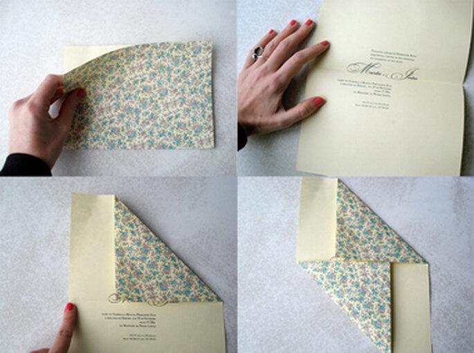 Convites de Casamento em Origami - corações, garças ou borboleta?
