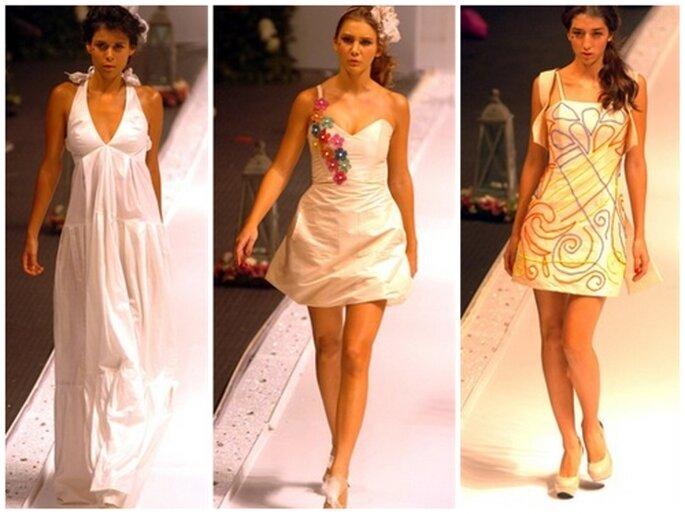 Vestidos para boda civil de Daniela Ferrari
