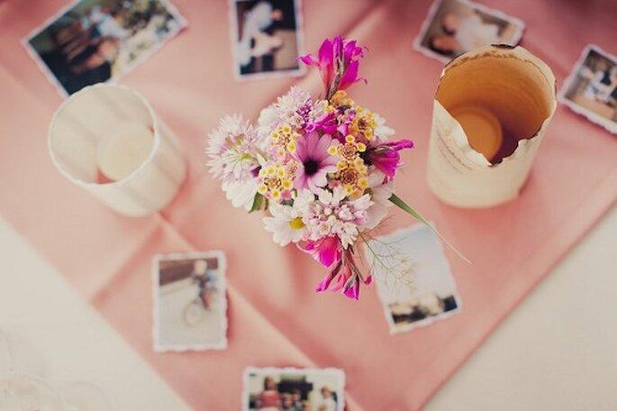 Hochzeit auf Mallorca. Tischdekoration - Foto: Nadia Meli.