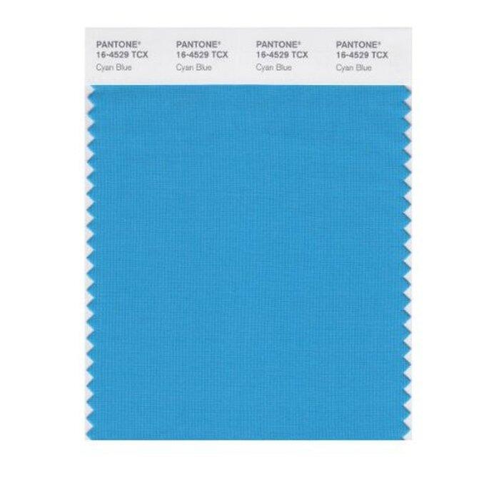color azul cyan - Foto Pantone