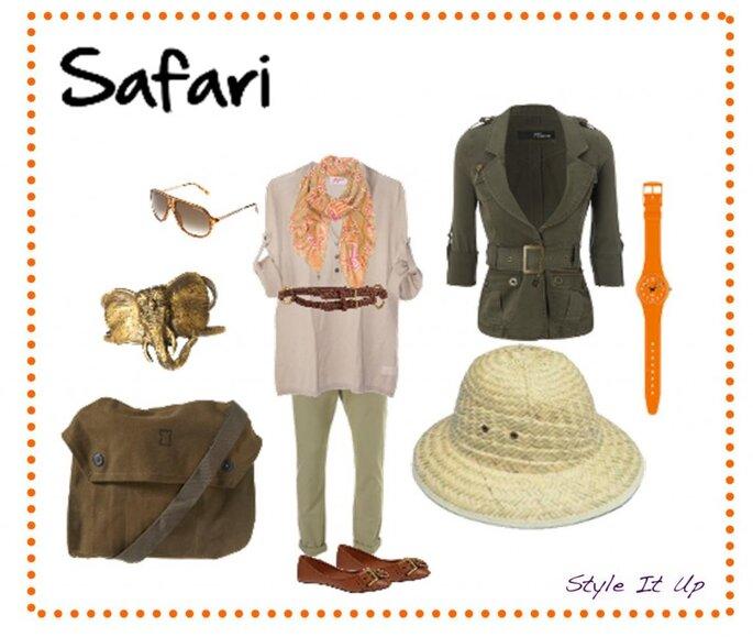 Lua-de-mel num Safari