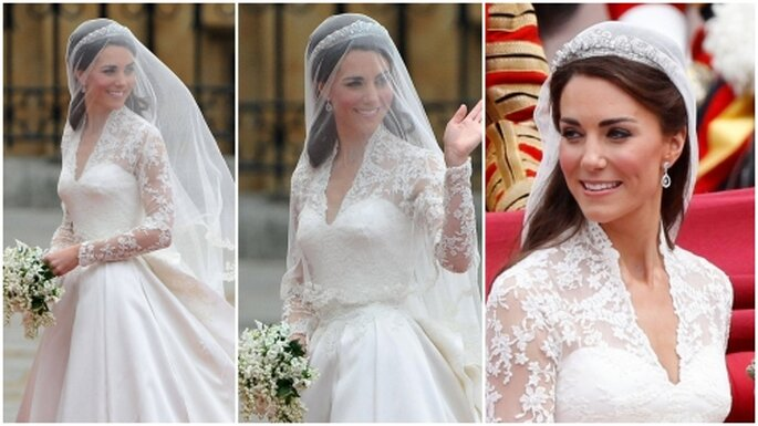Vestido de novia de Catalina Middleton