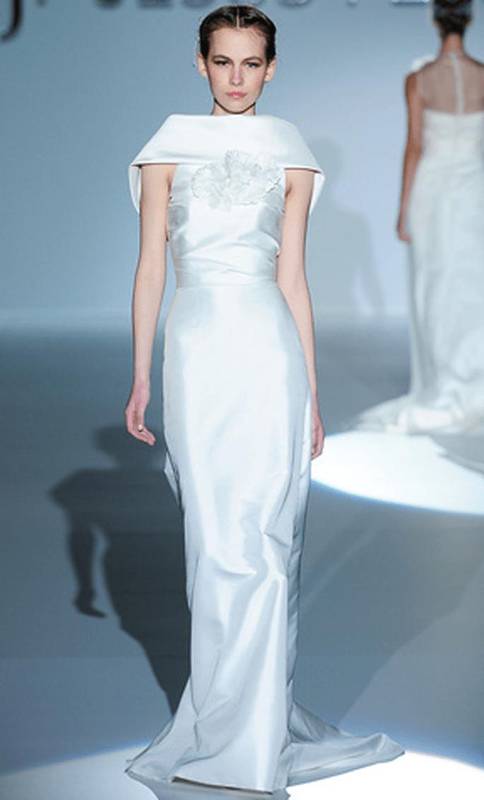 Vestido de novia estilo oriental Jesús Peiró 2010