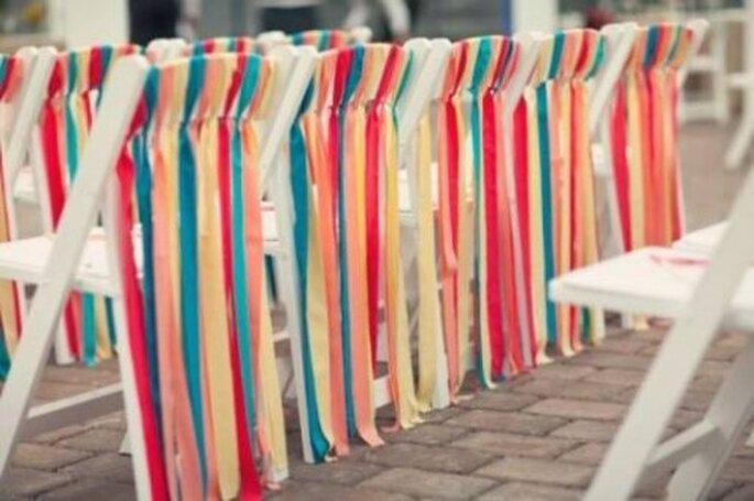 Cintas de colores. Foto: Our Labor of Love