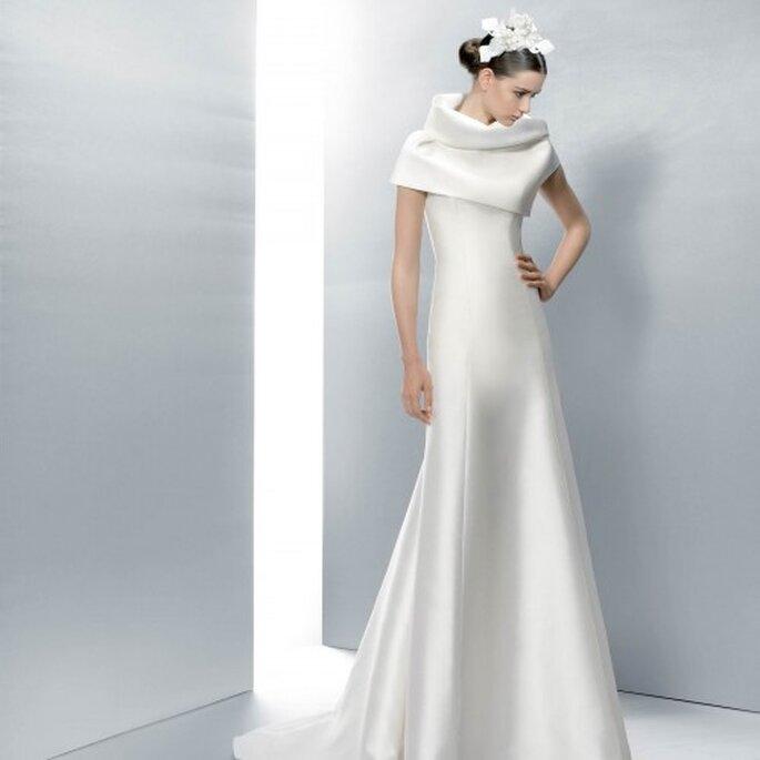 Consejos para elegir el mejor vestido de novia para invierno - Jesus Peiró