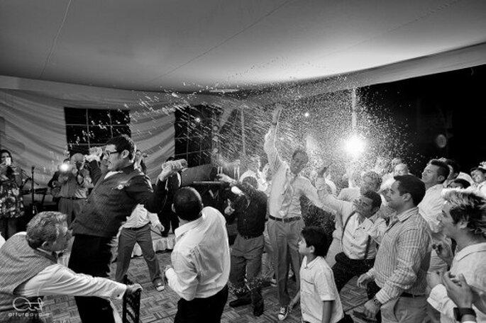 Disfruta de toda tu boda, no te preocupes por nada y goza del mejor álbum de bodas - Foto Arturo Ayala
