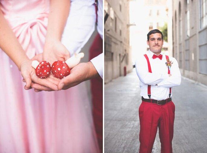 Real Wedding: Una boda inspirada en Mario Bros - Foto Lehua Noelle Photography