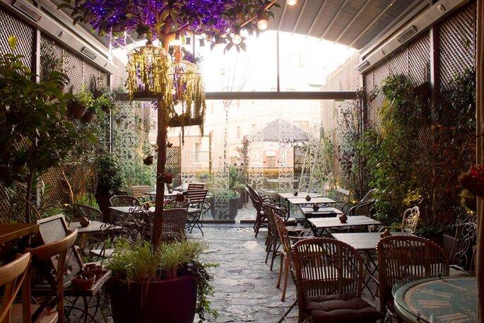 15 terrazas de madrid para una primera cita triunfa for Jardin secreto salvador bachiller