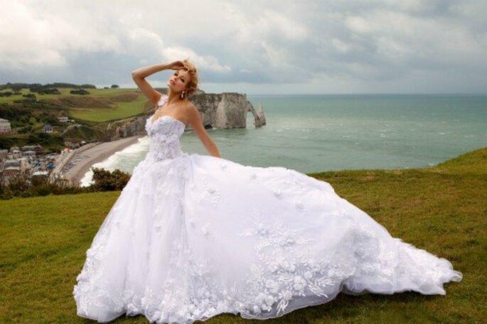 Robe de mariée Oksana Mukha - Modèle Solomiya