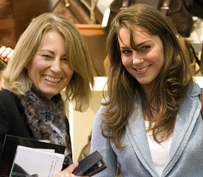 Carole Middleton y su hija Kate