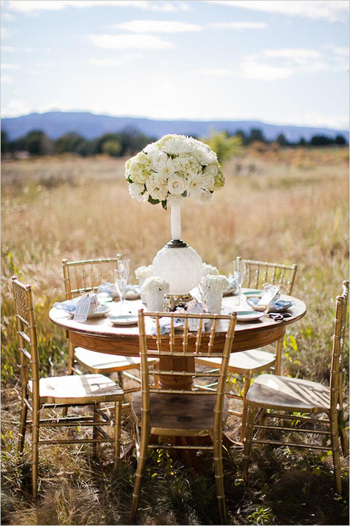 Montajes perfectos para una boda de día en el campo - Foto Cat Mayer Studio