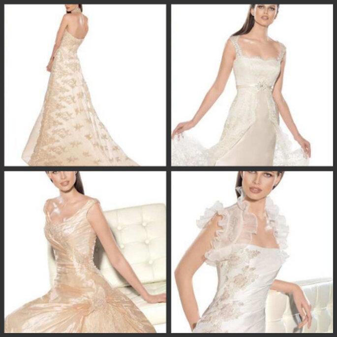 Parte de la colección de los hermosos vestidos que podrás encontrar en Angélica Novias de Ecuador.