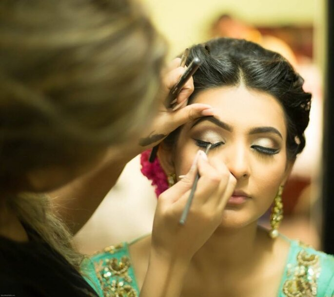 Photo: Makeup by Kiinjal Mehta-Make U Up Studio