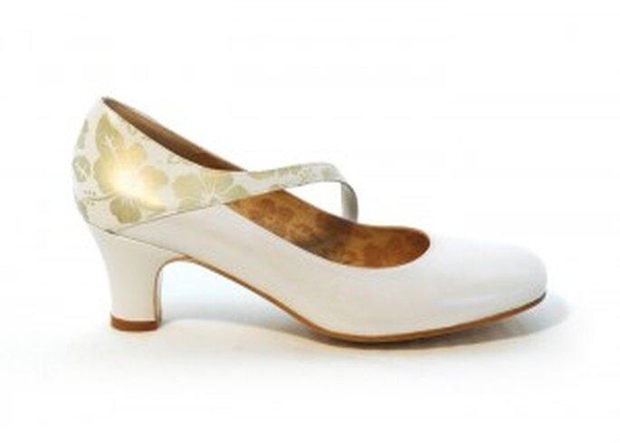 Chaussure de mariée automne