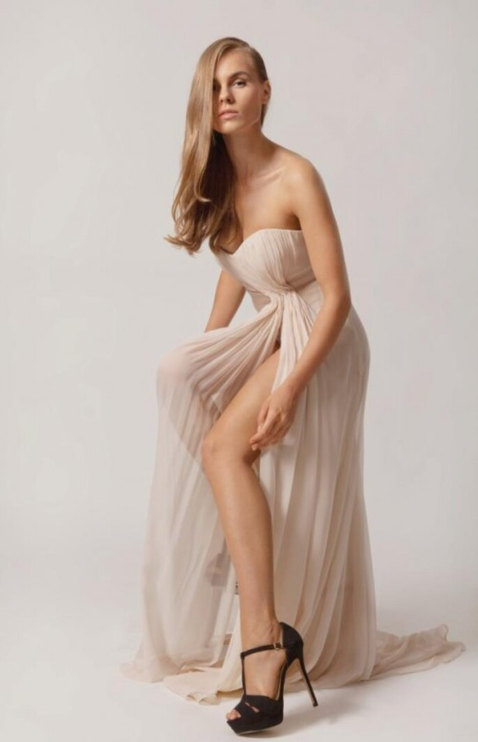 Elegante Kleider vom Berliner Modedesigner Ha Duong – Foto: Ha Duong