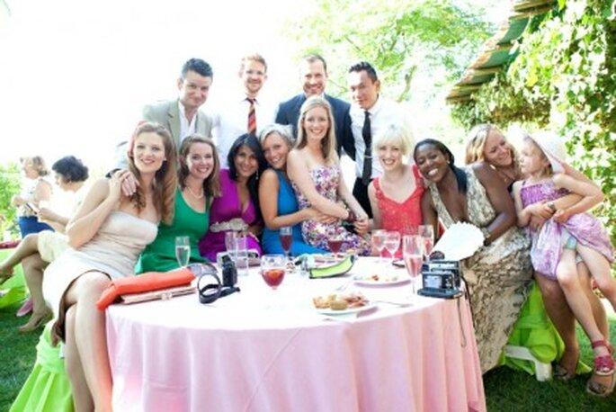 El look de los invitados depende del tipo de boda.  Foto: Nuno Palma