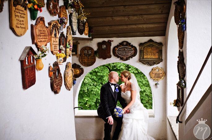 Glückliches Brautpaar: Stefanie und Brian - Foto: Martina Rinke.