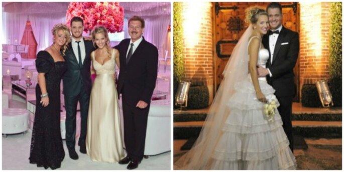 Vestidos de novia de Luisana Lopilato
