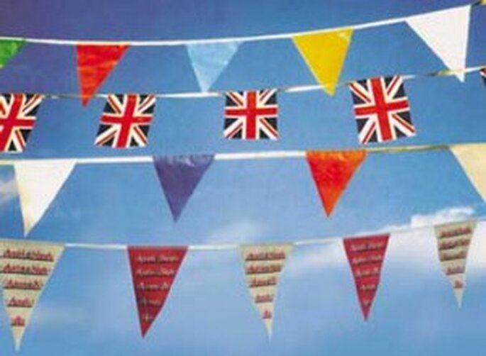 You've got to have bunting!