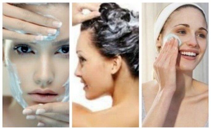 Cuidar la piel y el cabello semanas antes de la boda