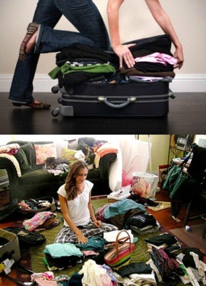 Seleccione bien lo que llevara no empaque ropa que no es indispensable