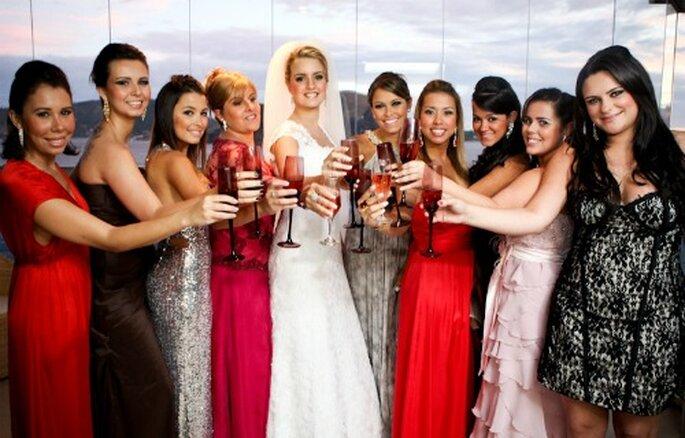 Diferentes estilos de vestido para invitadas a una boda. Foto: Paulo Heredia