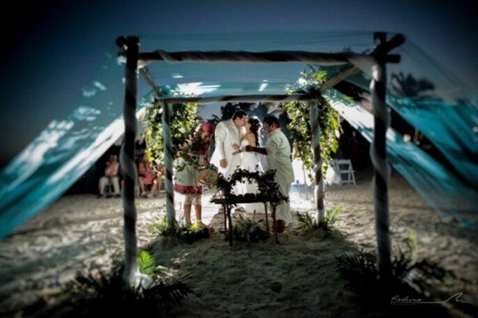 La boda Shamanica Maya hará de tu ceremonia algo muy mágico y con mucho significado - Foto Rodrigo del Río