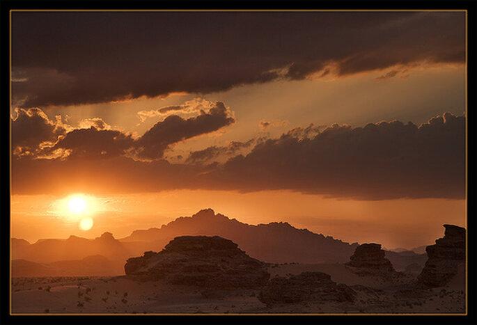 El desierto de Wadi Rum