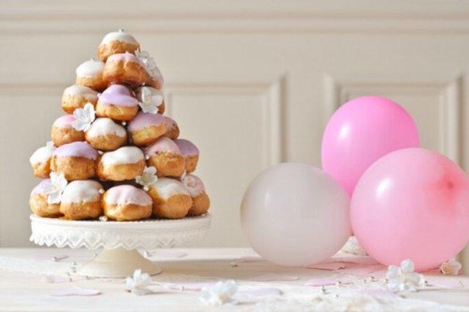 Pièce montée : jouez la carte de l'originalité pour votre dessert de mariage ! - Photo : Carnets Parisiens