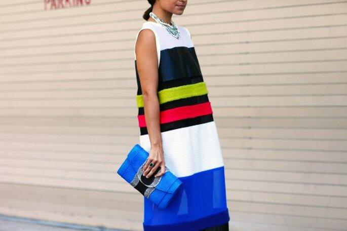 Inspiración en el vestido Miroslava Duma - Foto Vogue Street Style Milán