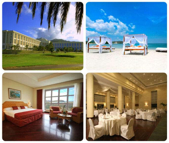 Instalaciones del Hotel Hesperia Isla Margarita. Foto: www.hesperia.es
