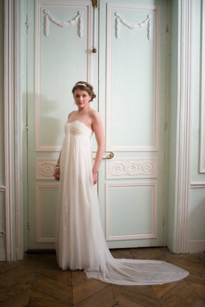Robe de mariée bustier 2013 - Adeline Bauwin