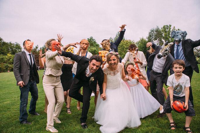 12 tipos de invitados que encontrarás en todas las bodas - Coralie Photography