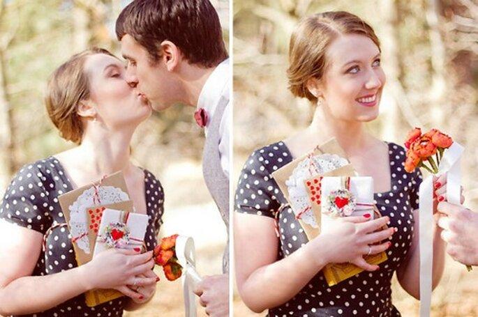 Cómo festejar San Valentín - Fotos: Green Wedding Shoes