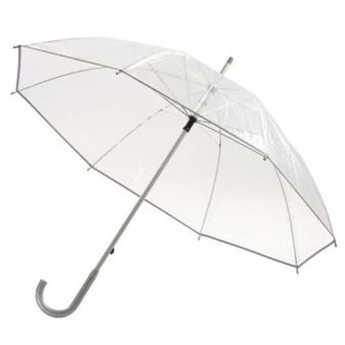 Paraguas japoneses transparentes