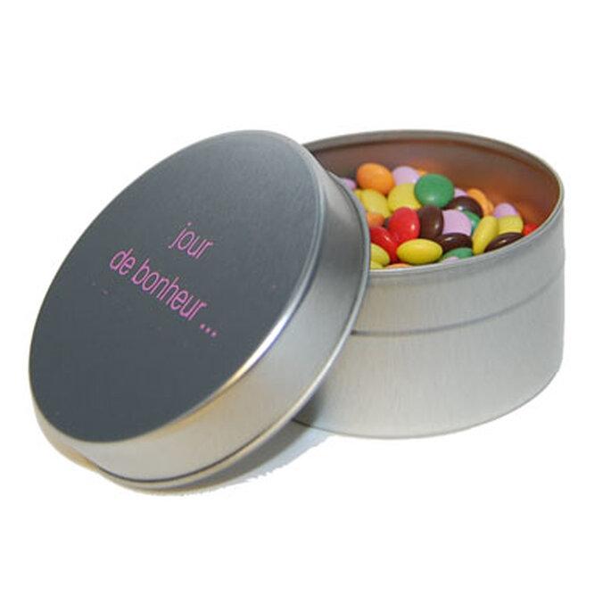 Une boite de bonbons personnalisée, ça fait toujours plaisir !