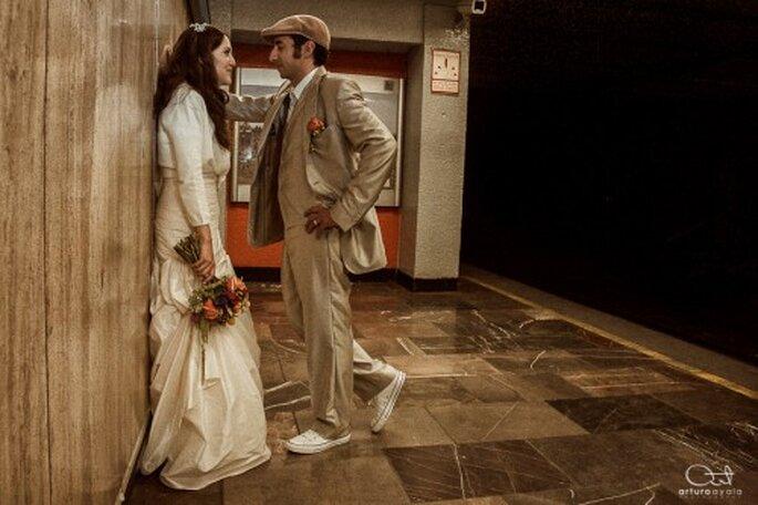 Disfruta la sesión de fotos de boda sin sorpresas - Foto Arturo Ayala
