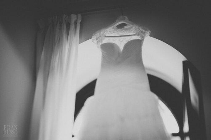 Vestido de novia. Foto: Fran Russo