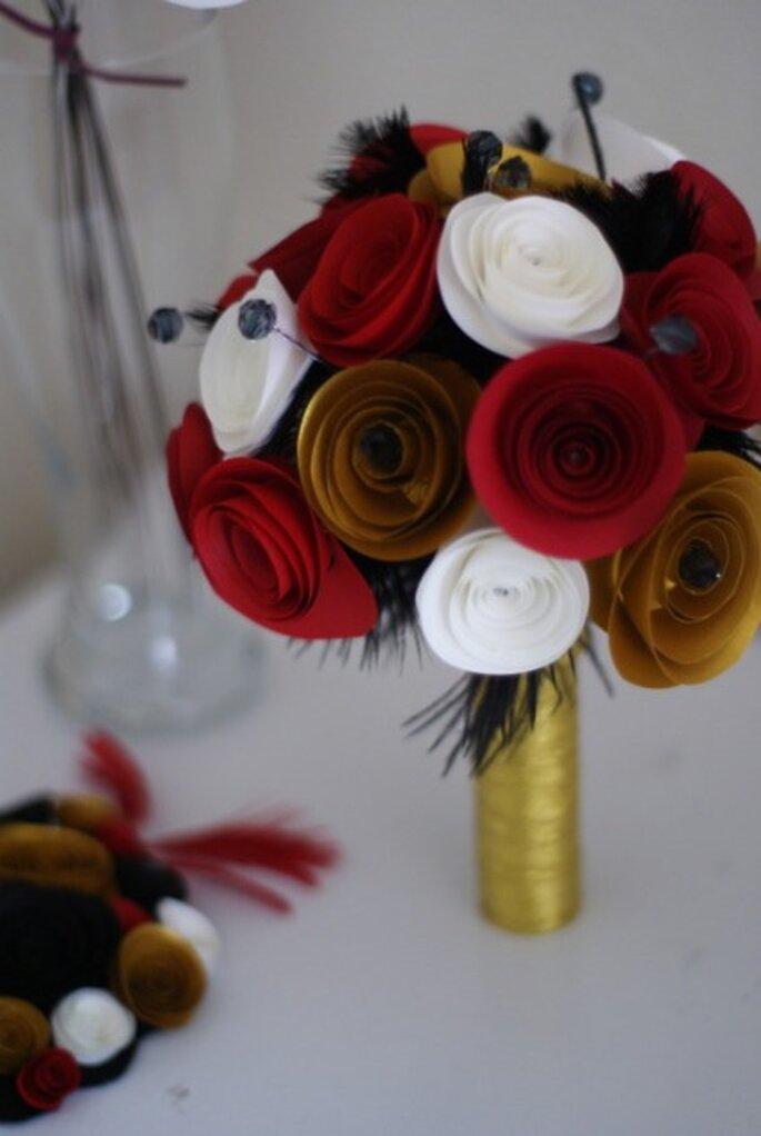 Bouquet de mariée des années 20 - Mybohemiansummer.tumblr.com