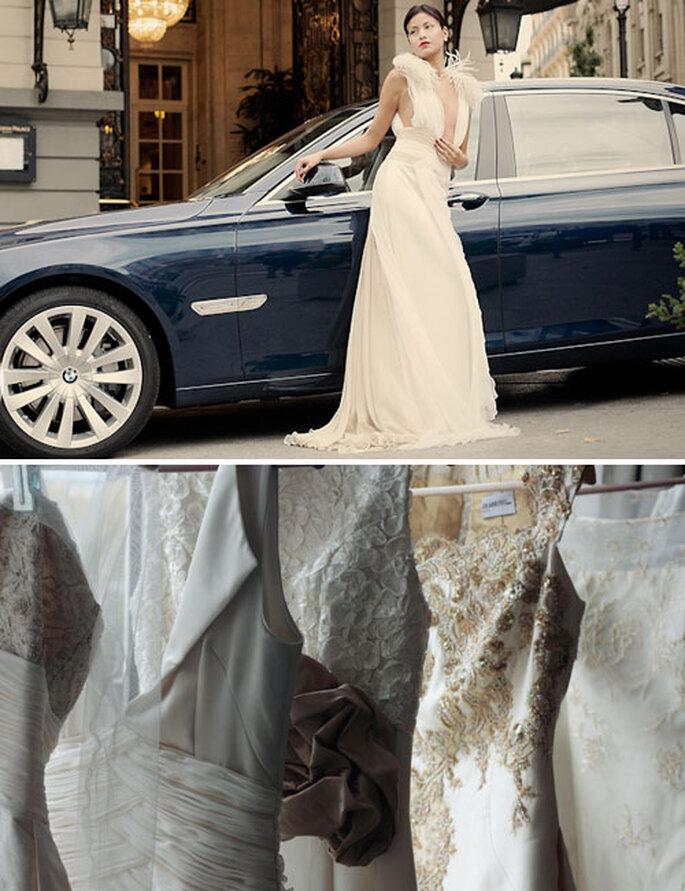 Los espectaculares vestidos de novia de costura de DEARROYO atelier