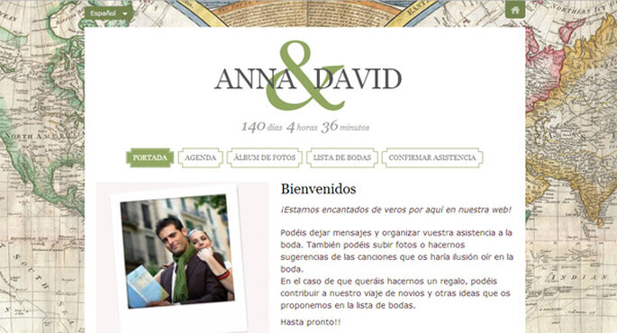Web de boda Zankyou