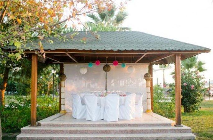 Decoración para bodas. Foto de Nadia Meli.